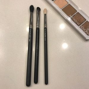 Set of Three MAC Eye Brushes